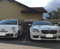 BMW 640i Gran Couoe ABARTH 500